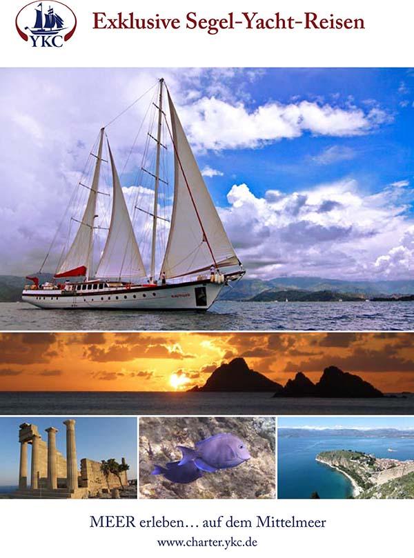 Imagekatalog Segelyachtreisen