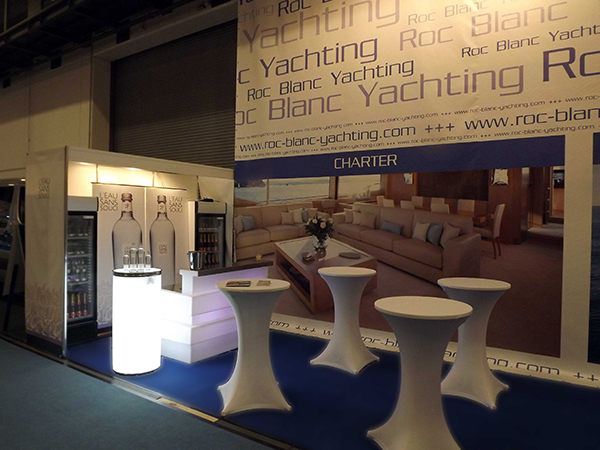 Boot und Fun: Messestand Roc Blanc Yachting