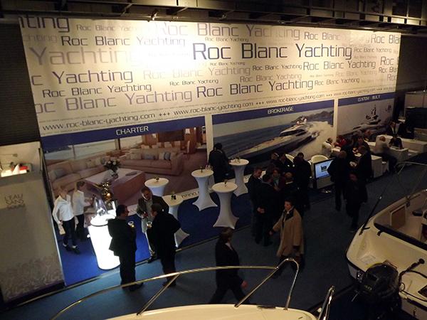 Boot und Fun: Messestand Roc Blanc Yachting